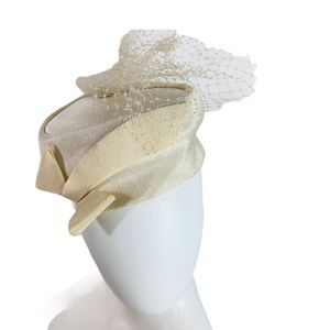 Vintage 50's Era Ivory Fancy Union Made Timeless